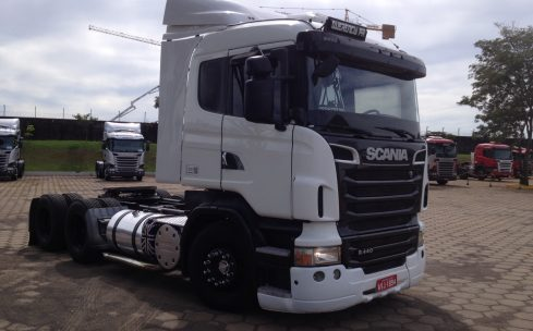 SCANIA  R-440 6X4 2012