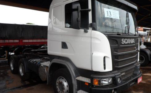 SCANIA G 480 6X4 CAB. LEITO BUG PESADO 2013/2013 OPTICRUISE COM PEDAL