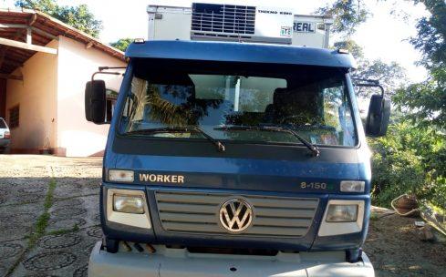 VW 8.150 4×2 com Baú refrigerado (VT)