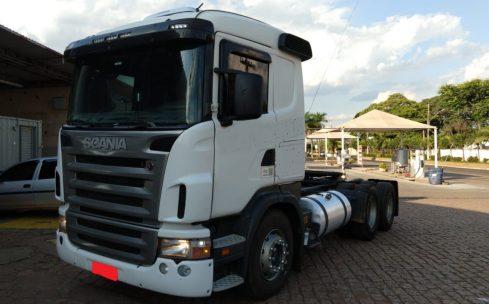 Scania G420 6×2 2008 (vt)