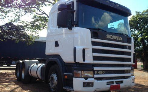 Scania R420 6×2 2005