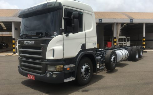SCANIA P-340 8X2 – CHASSIS 2011