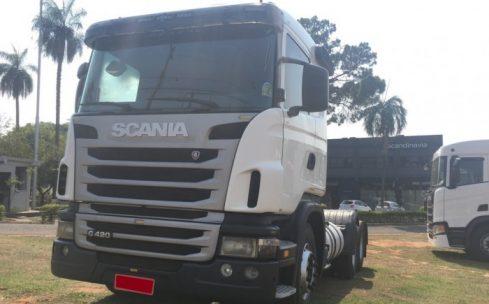 SCANIA G 420 6X2 SUSP. MOLAS TRUCADO 2010/2010