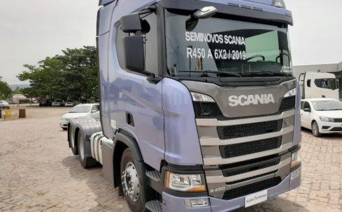 Scania R450 A6X2 ano 2019