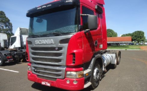 Scania G 420 6X4 2011/2012