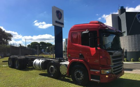 SCANIA P-310 8X2 CHASSIS 2013