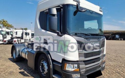 Caminhão Scania Toco P 360 4×2 2019 – baixa km