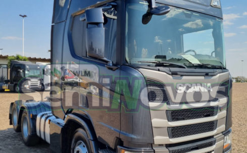 Scania Trucado R 450 6×2 2019/2020 – Teto Alto